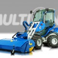Multione-sweeper for mini loaders