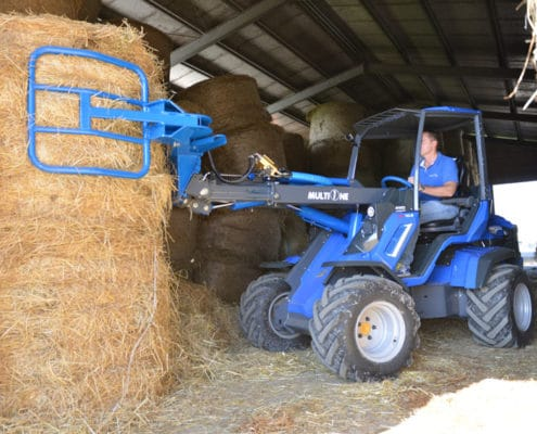 Hay Grab Attachment