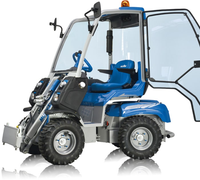 The MultiOne Small Mini Articulated Loader 2 Series