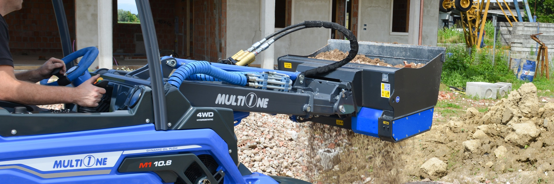 MultiOne Screening Bucket Attachment