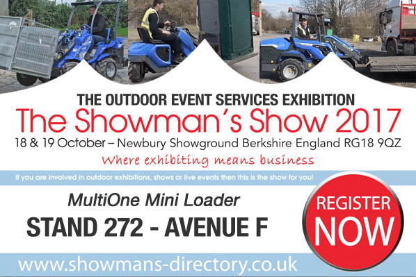 Showmans Show Header